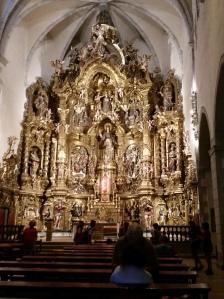 Altar back. Esglesia de Santa Maria