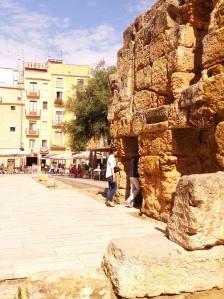 Tarragona wall of Roman forum
