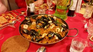 New year 2015 16 paella